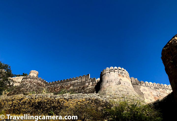 The best time to visit the Kumbhalgarh Fort in Rajasthan is during monsoons or winters between the months of July to February. The climate is cooler, although during winters it gets pretty cold during nights, but enjoyable. Although Kumbhalgarh is in Rajasthan but is around hills. Because of that weather of Kumbhalgarh is relatively better place weather-wise in Rajasthan state of India.
