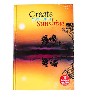 Create Your Own Sunshine Hard Cover Notebook 12 in 1