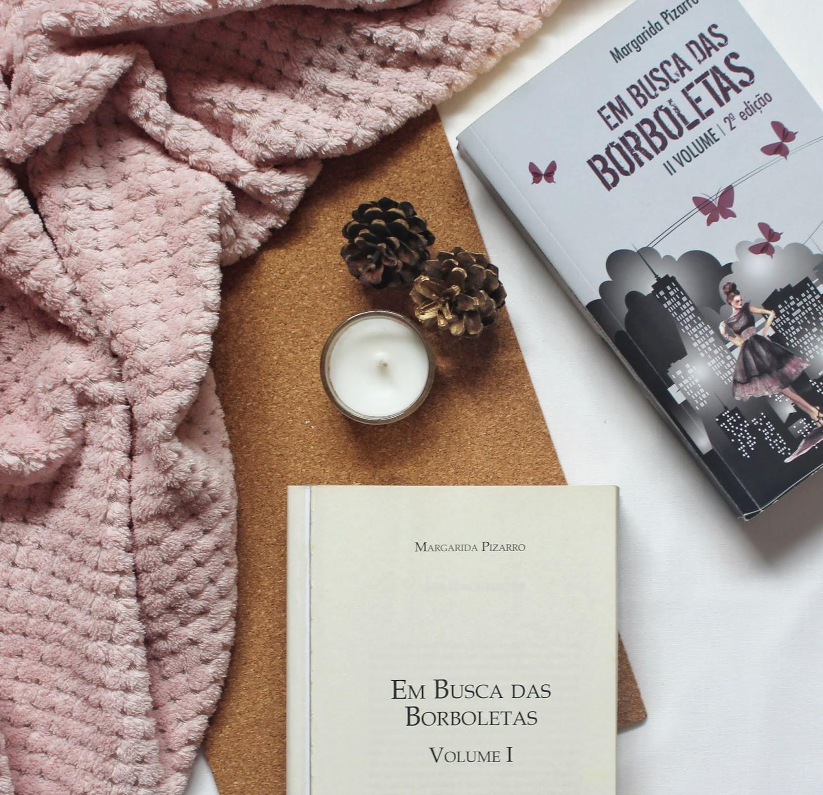 Livro «Em Busca das Borboletas» de Margarida Pizarro