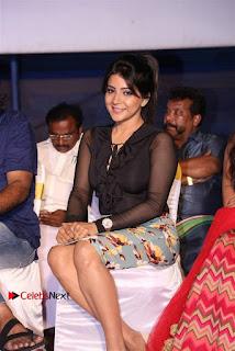 Actress Sakshi Agarwal Stills in Floral Short Skirt at Jaikira Kuthira Audio Launch  0002.jpg