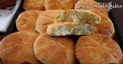 خبز خفيف منسم وبدون مجهود