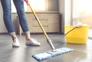 kebiasaan membersihkan rumah