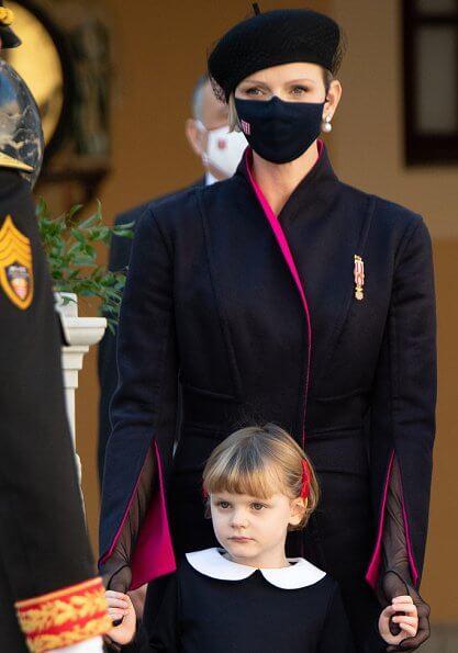 Princess Charlene, Prince Jacques, Princess Gabriella, Princess Caroline, Tatiana Santo Domingo, Princess Alexandra, Beatrice Borromeo