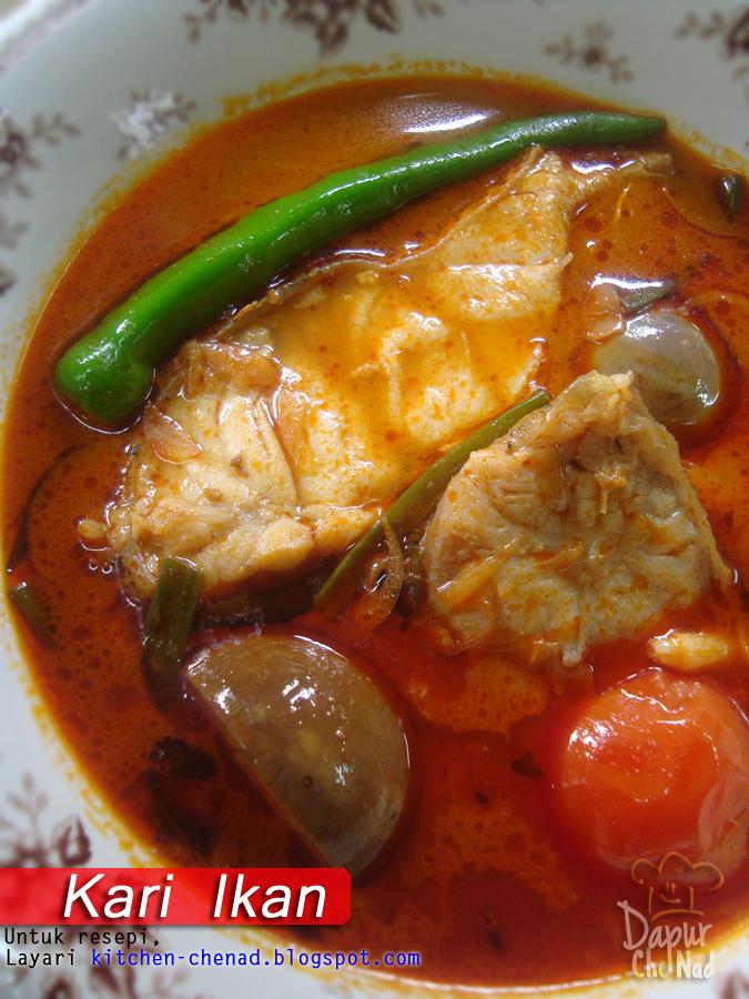 kari ikan  santan Resepi Ayam Goreng Santan Enak dan Mudah