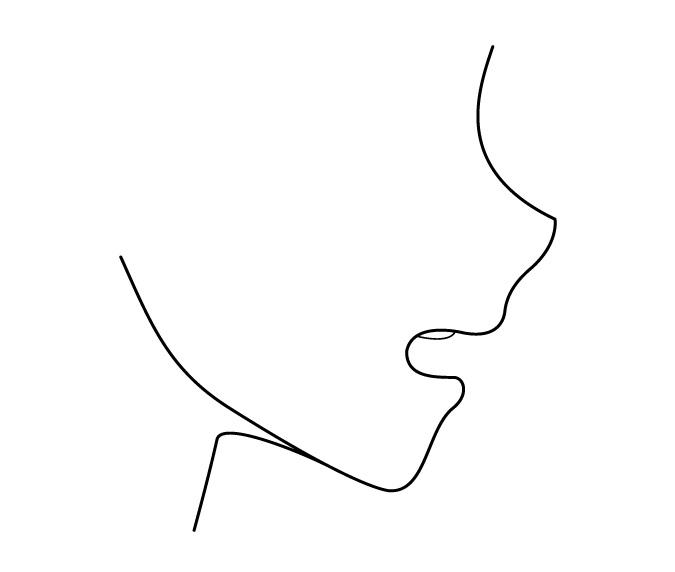 Buka tampilan samping mulut anime