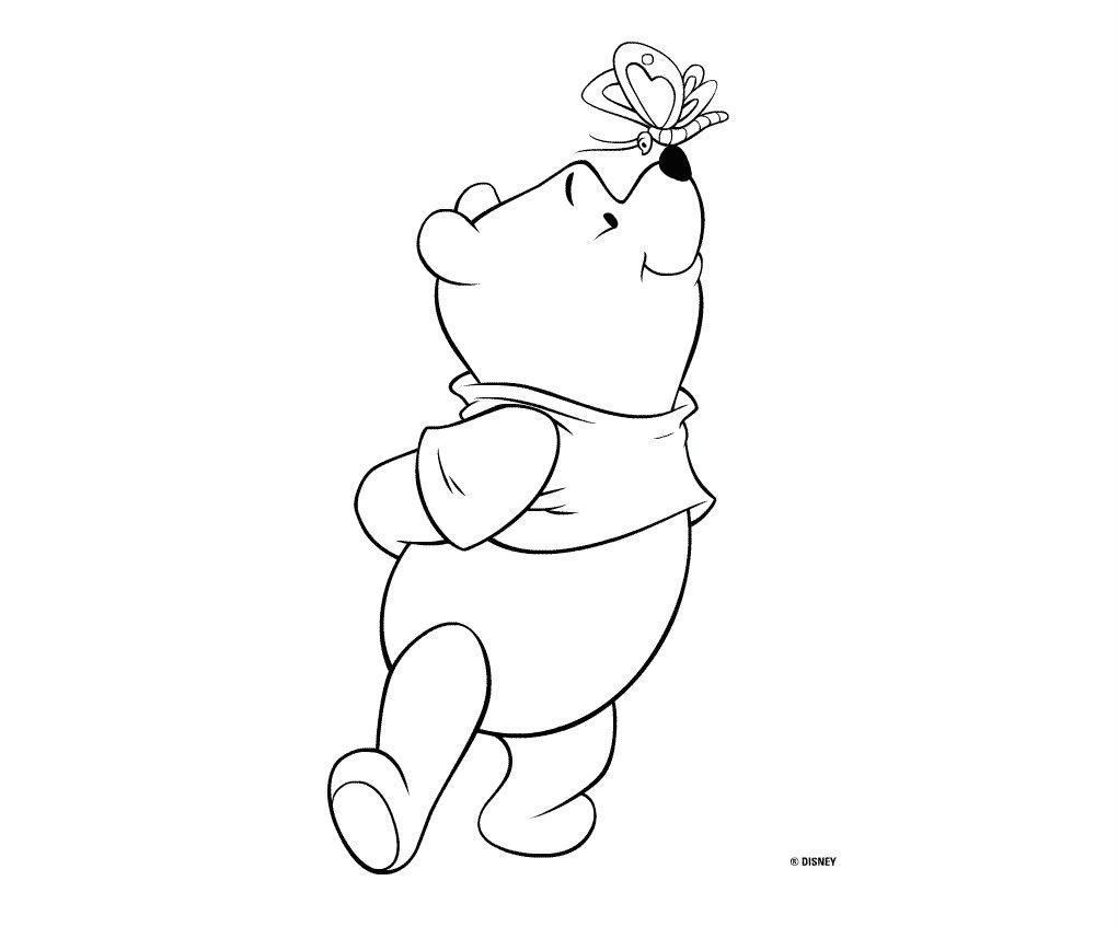 JARDIM COLORIDO DA TIA SUH: Desenhos do Ursinho Pooh para