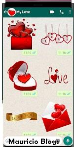mejores stickers romanticos para whatsapp