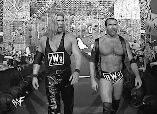 WWE / WWF Wrestlemania 18 -  Kevin Nash accompanies Scott Hall for his match with Steve Austin