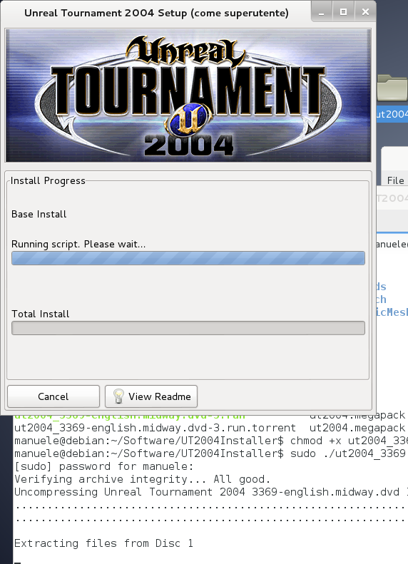 Unreal Tournament 2004: create a bot with Pogamut on Linux