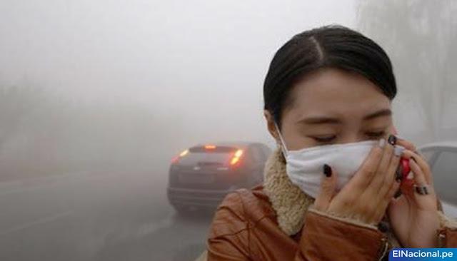 Coronavirus se transmite por polución