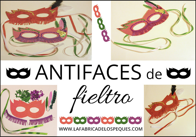 Antifaces fieltro