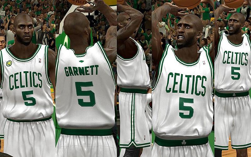 ... NBA 2K13 Boston Celtics Home Jersey Patch This jersey mod ... bed09adb7