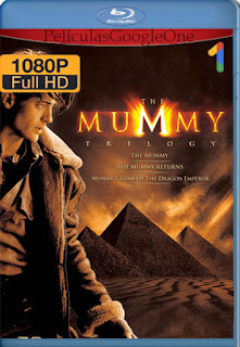 The Mummy TRILOGIA (1999-2008) [1080p BRrip] [Latino-Japonés] [LaPipiotaHD]