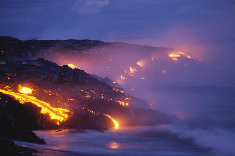 kilauea, hawaii, volcano, lava