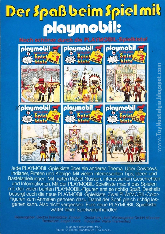 Playmobil COLOR SpielKiste all models