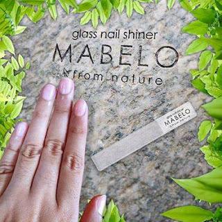 MABELO GLASS NAIL SHINER