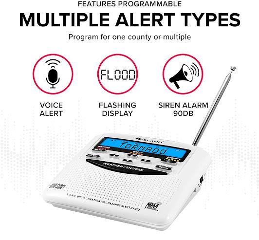 Best Severe Weather Emergency Alert Radio