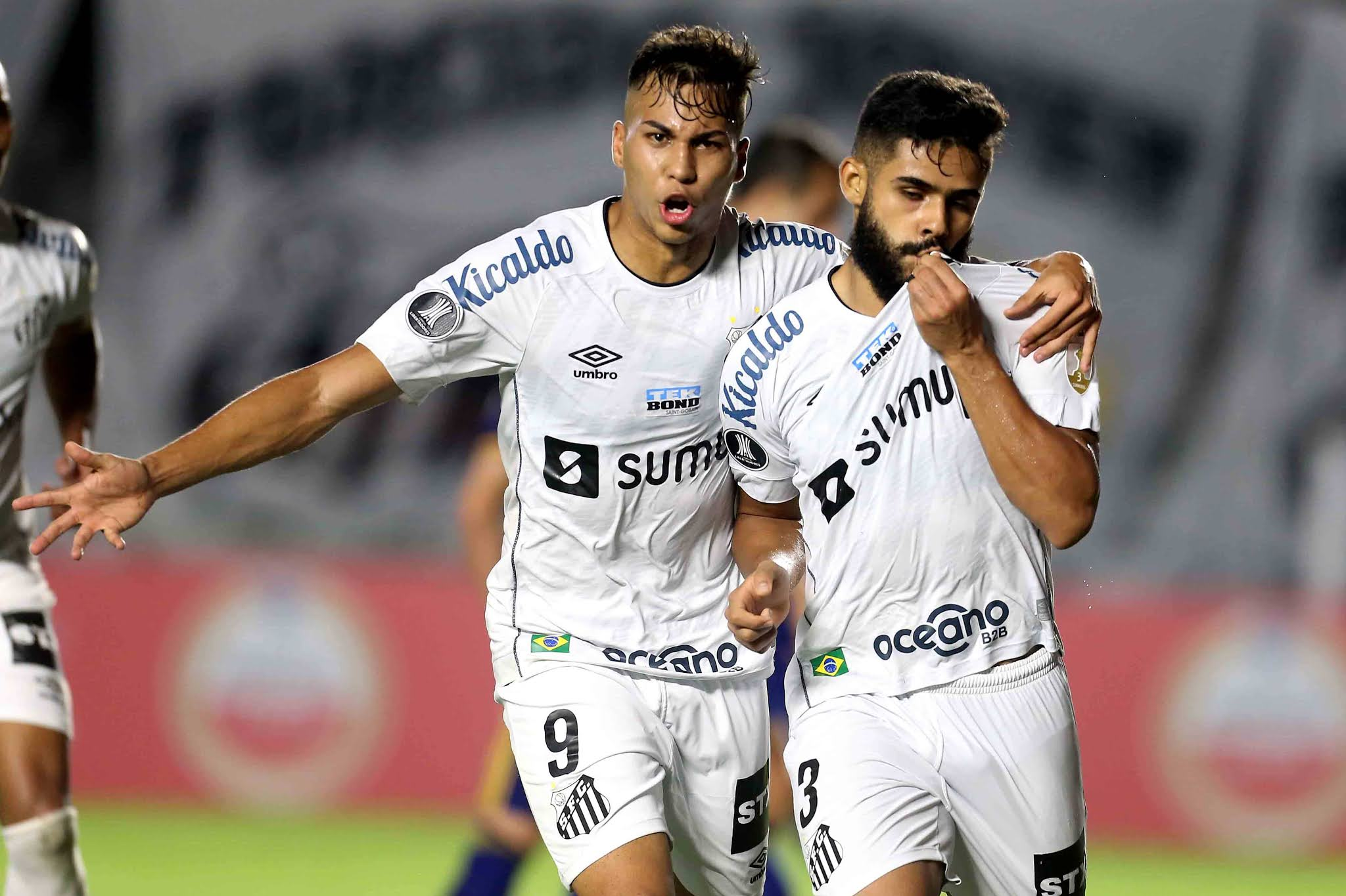 Santos 1 - Boca Juniors 1