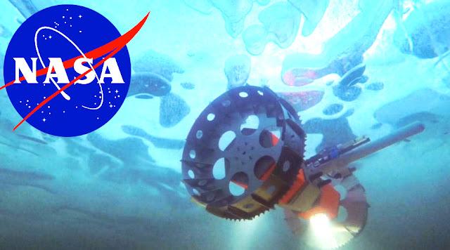 عرضت الإدارة الوطنية للملاحة الجوية والفضاء (NASA) بالولايات المتحدة الأمريكية مؤخرًا روبوتًا جديدًا تحت الماء للقيام بمهمة يمكنها يومًا ما البحث عن الحياة في عوالم المحيطات خارج الأرض.    يتم تطوير الروبوت ، المعروف باسم Buyant Rover for Under-Ice Exploration BRUIE ، للتنقيب تحت الماء في المياه الجليدية الجليدية بواسطة مهندسين في مختبر الدفع النفاث التابع لناسا في باسادينا ، كاليفورنيا.