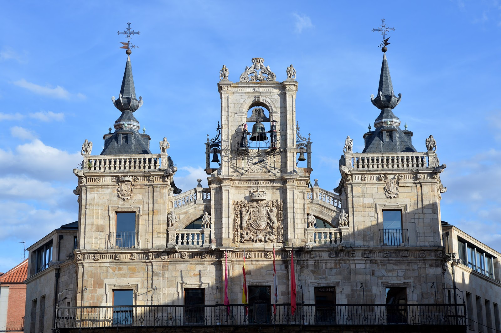 astorga spain town hall ayuntamiento maragatos