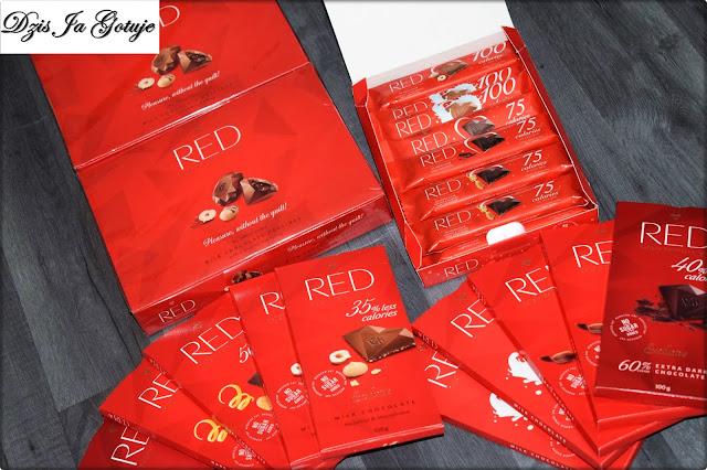 Czekoladki Red Delicious&light