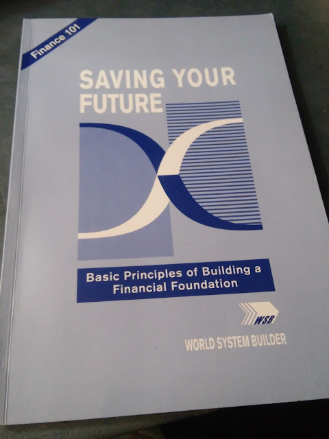 Saving your Future book