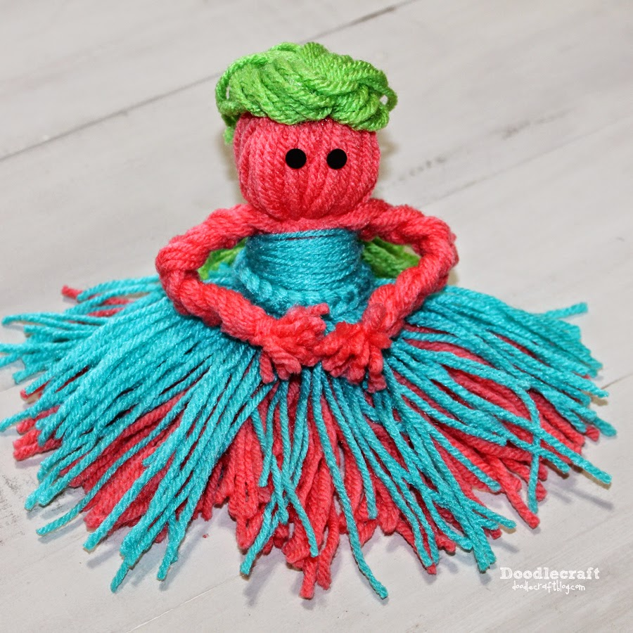Easy Craft Projevcts Made With Yarn