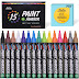 $7.74 (Reg. $17.99) + Free Ship Permanent Paint Markers for Wood, Metal, Ceramic, and Glass!