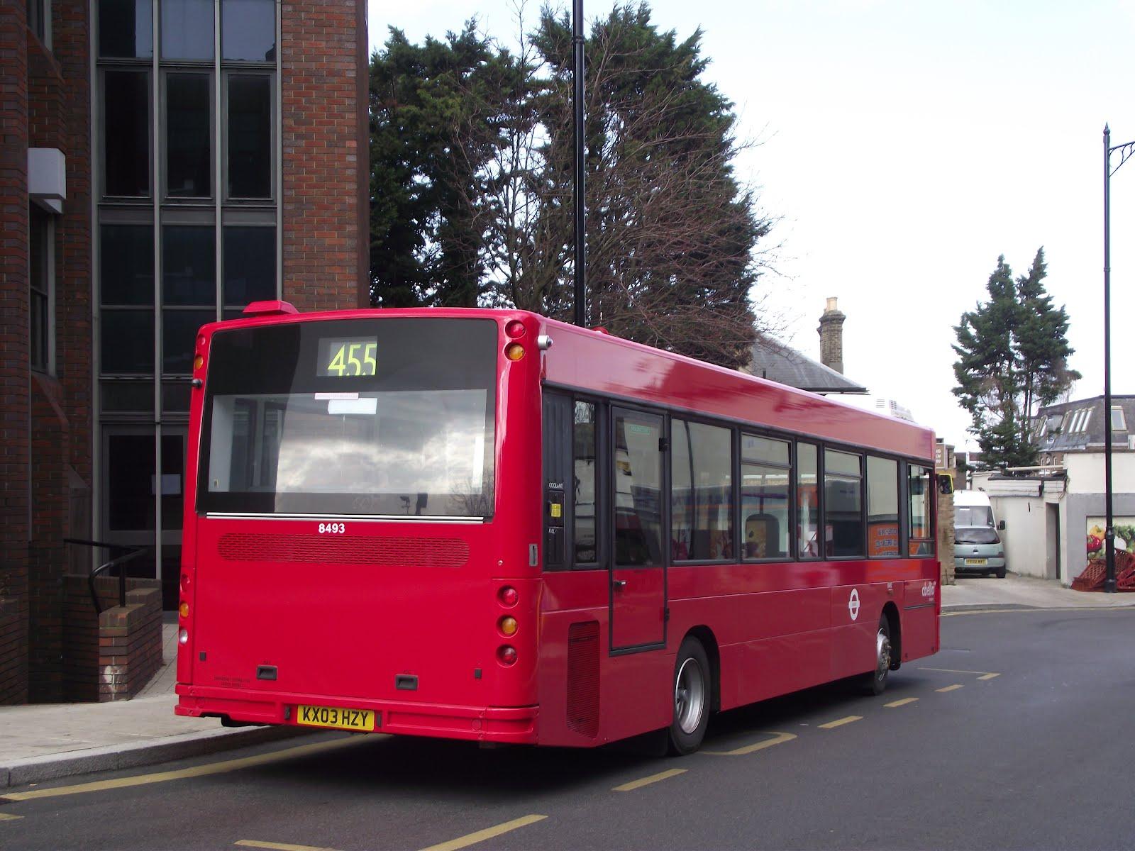 455 Bus timetable Arriva Bishops Stortford health
