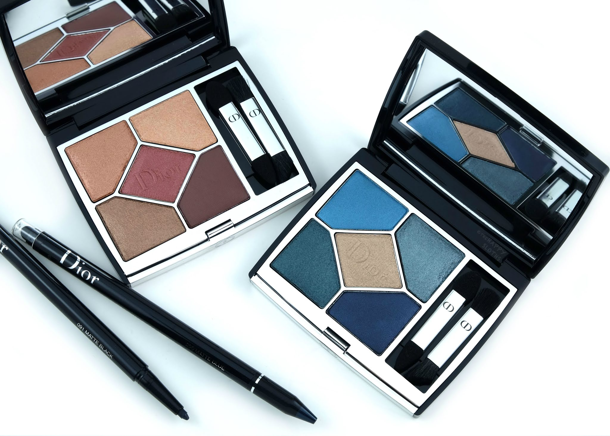 Dior | 5 Couleurs Couture Eyeshadow Palette & Diorshow 24H Stylo: Review and Swatches