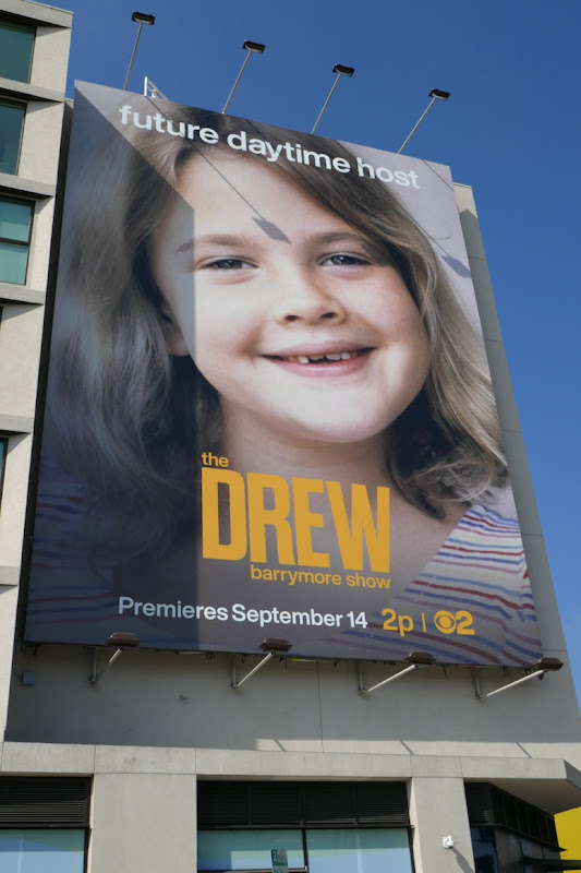 Drew Barrymore Show child billboard