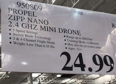 Deal for the Propel Zipp Nano 2.4 GHz Mini Drone at Costco