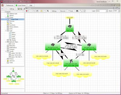 Dude : Χαρτογραφήστε το  δίκτυό σας