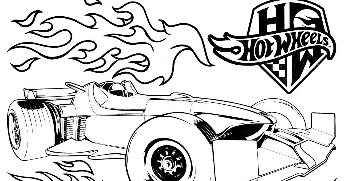 Desenhos Para Pintar E Colorir Hot Wheels Imprimir