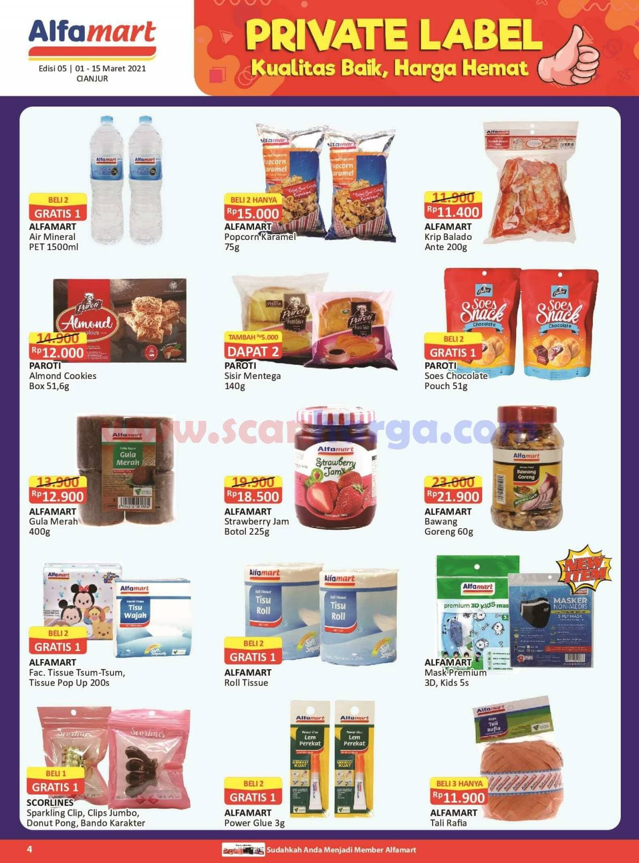 Katalog Promo Alfamart 1 - 15 Maret 2021 4