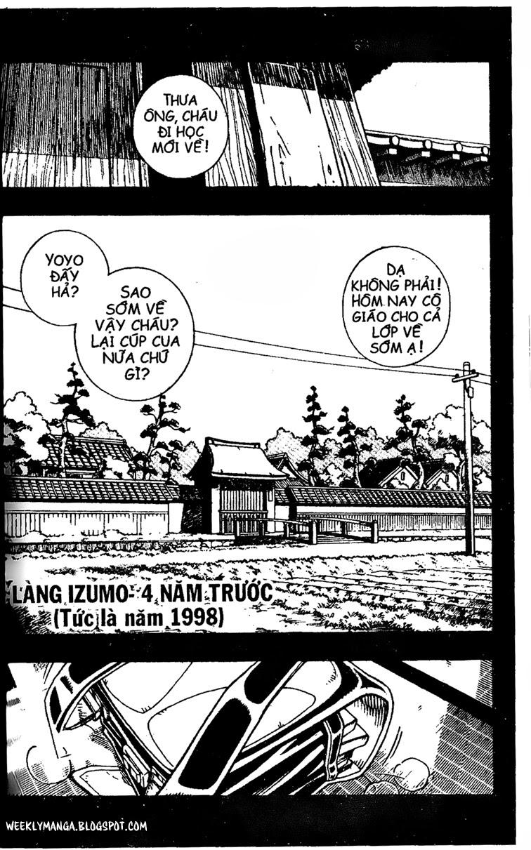Shaman King [Vua pháp thuật] chap 163 trang 2