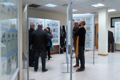 Exposición de Grucomi en el Centro Social Muñoz Degrain