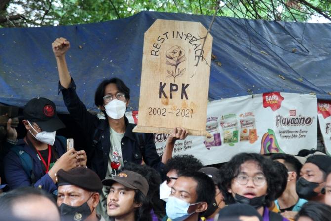 Isi 5 Tuntutan BEM SI dalam Aksi Unjuk Rasa di KPK