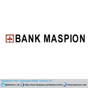 Informasi Lowongan Kerja Bank Maspion Bandung terbaru penutupan 31 Desember 2016