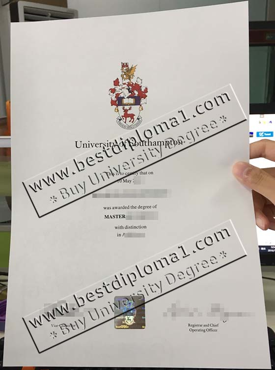 University of Southampton fake diploma