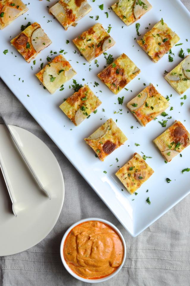 Tortilla Española Bites