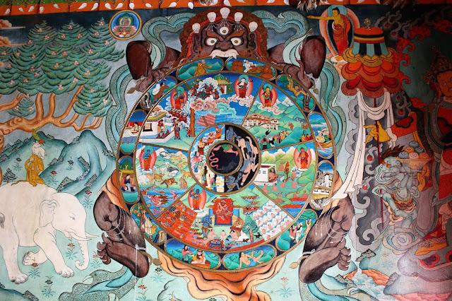 la roue du samsara