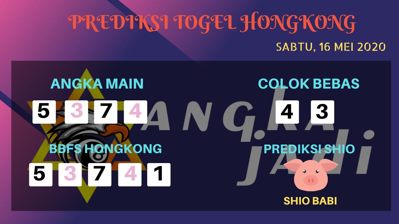 Prediksi Togel Hongkong Sabtu 16 Mei 2020 - Bocoran HK