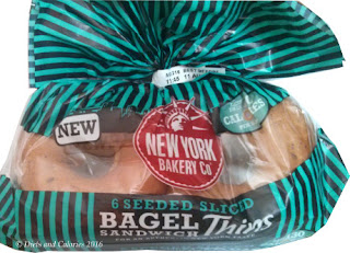New York Bakery Bagel thins pre sliced