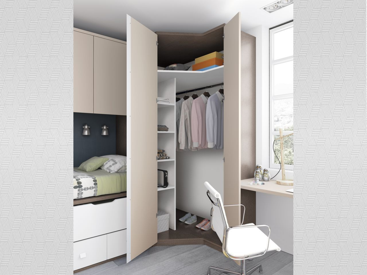 Blog dormitorios juveniles com cu nto mide un armario de for Armarios para dormitorios juveniles