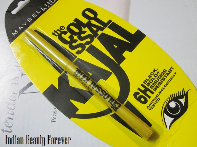Maybelline Colossal Kajal Review
