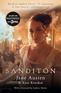 Book cover: Sanditon by Kate Riordan