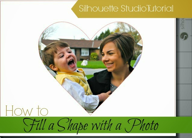 Silhouette Studio, Silhouette tutorial, fill shape, photo