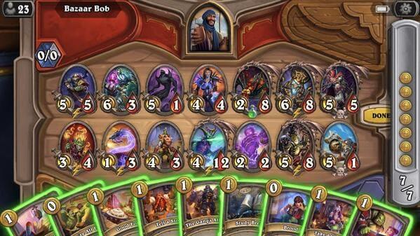 Hearthstone. Os melhores jogos de batalha de cartas para Android e iOS
