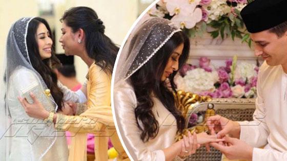 Sekitar Majlis Pernikahan Tunku Tun Aminah Dan Dennis Muhammad Abdullah